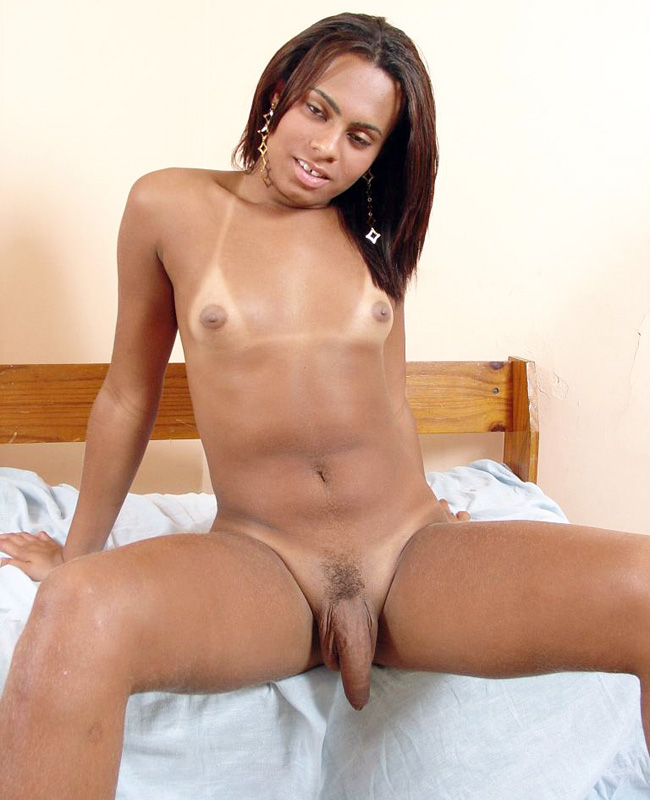 Ebony Trans Gabrielle Bares It All